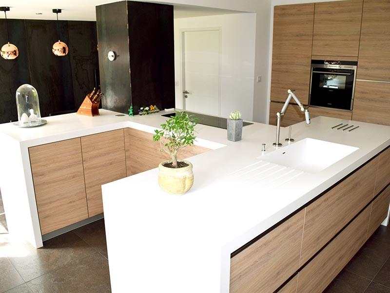 plan de travail corian r alisation cuisine sur mesure toulouse a2s pro. Black Bedroom Furniture Sets. Home Design Ideas