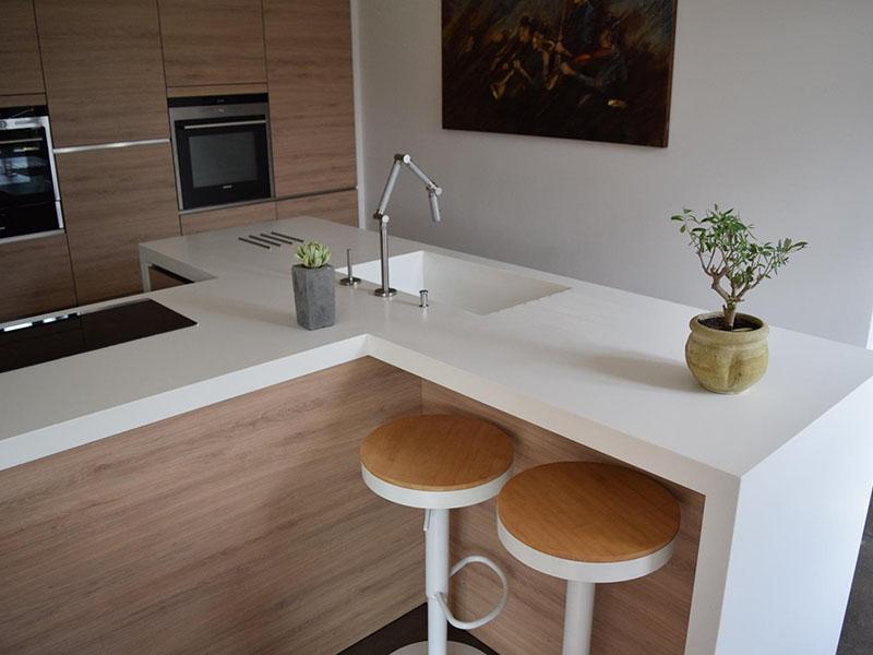 r alisation plan de travail toulouse cuisine corian design moderne a2s pro. Black Bedroom Furniture Sets. Home Design Ideas